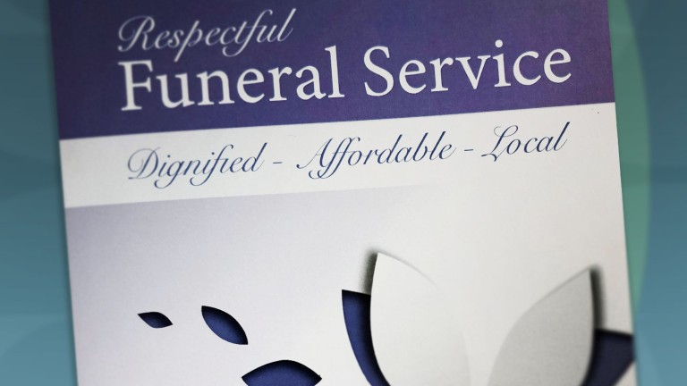 respectful-funeral-package-leaflet